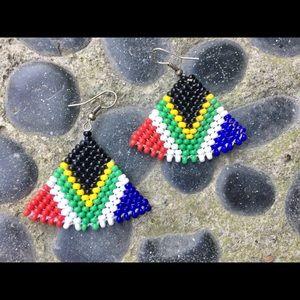 Vintage Native Tribal Earrings